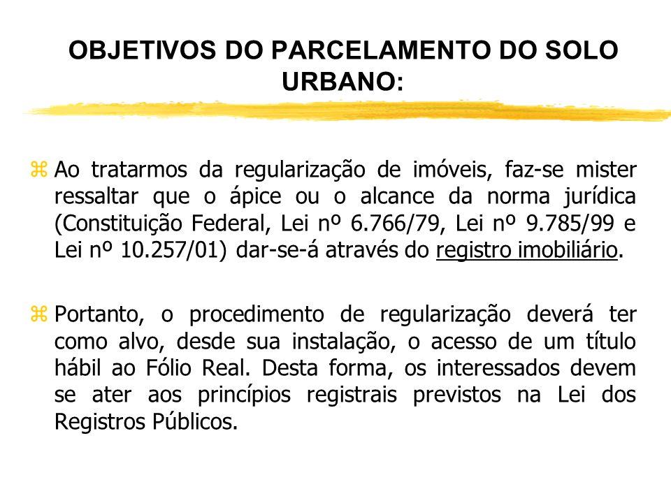 PROBLEMÁTICA: zA problemática enfrentada pelos operadores do direito no que tange ao assunto da regularização fundiária (imóveis URBANOS e RURAIS) no