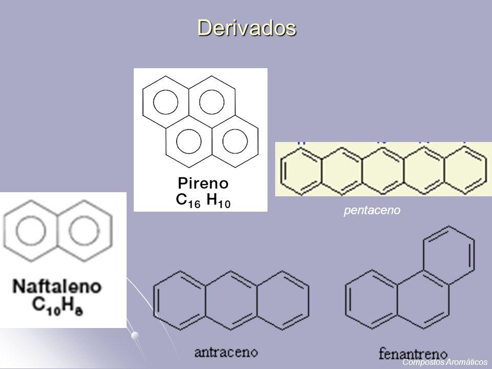 Derivados pentaceno Compostos Aromáticos