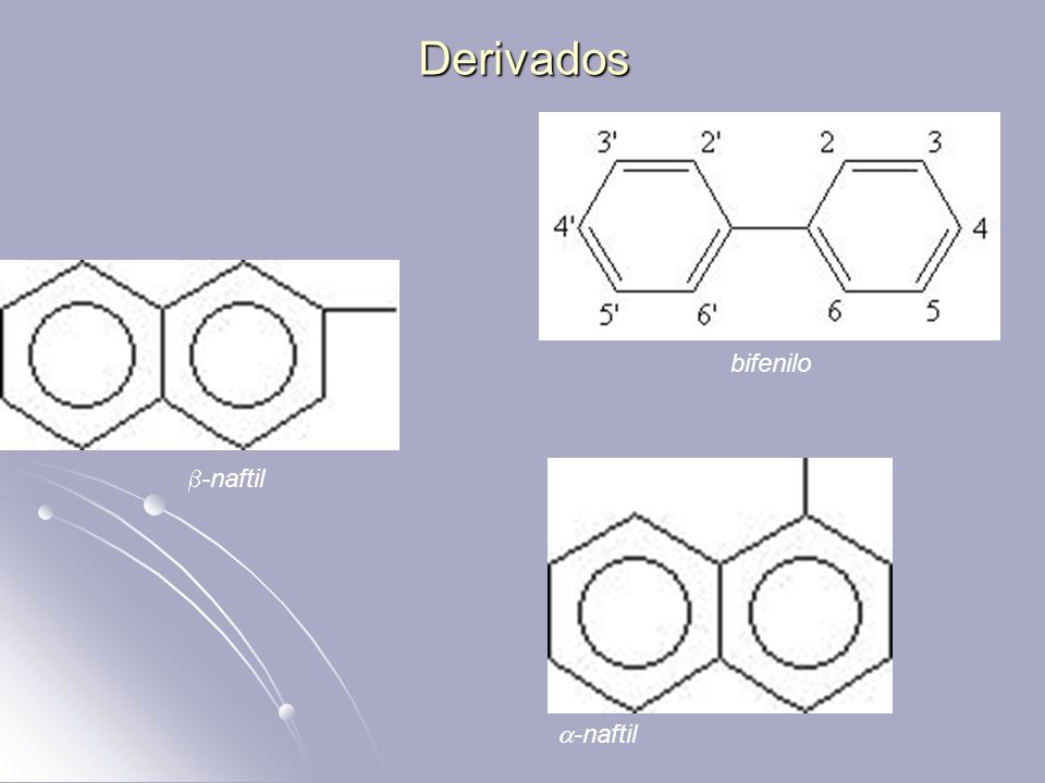 Derivados -naftil bifenilo