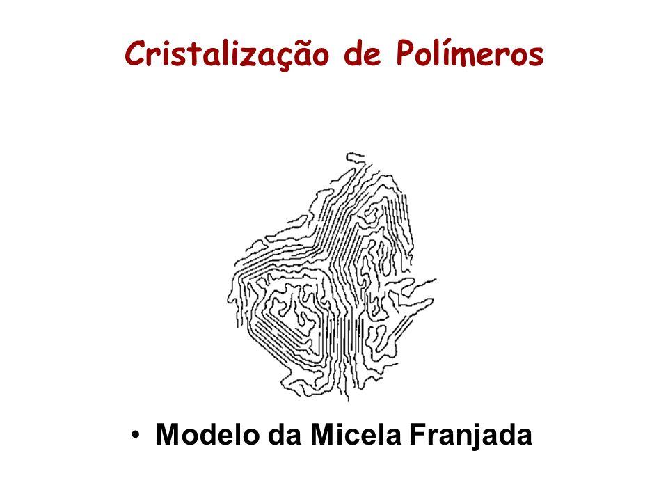 Cristalização de Polímeros Modelo da Micela Franjada