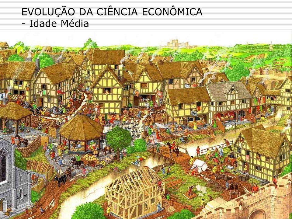 EVOLUÇÃO DA CIÊNCIA ECONÔMICA - Idade Média Idade Média –