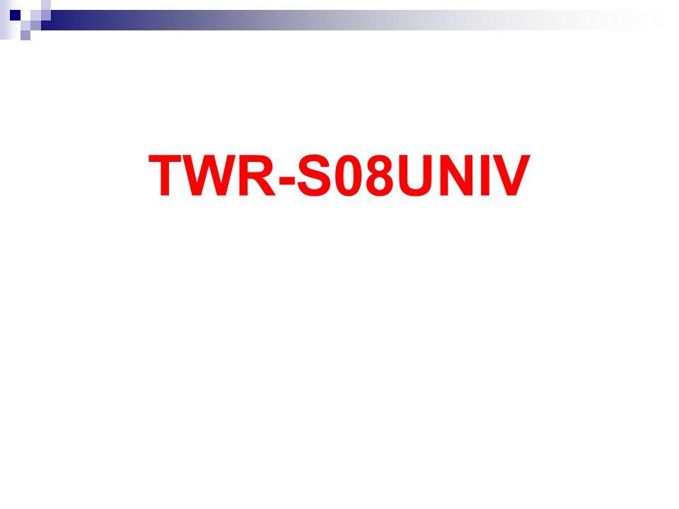 TWR-S08UNIV