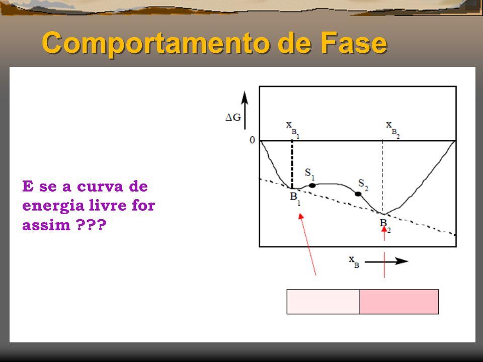 Comportamento de Fase E se a curva de energia livre for assim ???