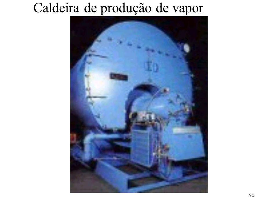 50 Caldeira de produção de vapor