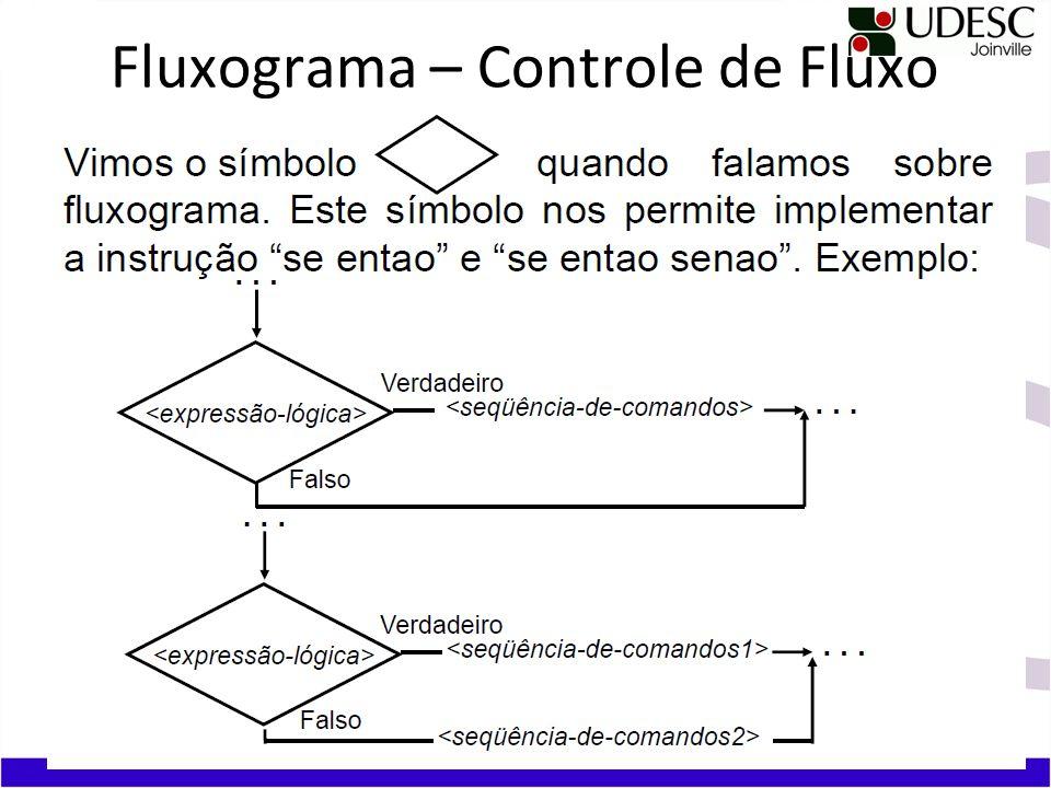 Fluxograma – Controle de Fluxo