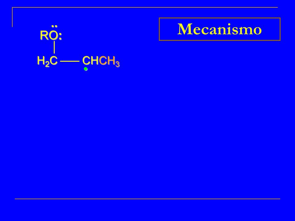 H2CH2CH2CH2C CHCH 3.. RO: Mecanismo