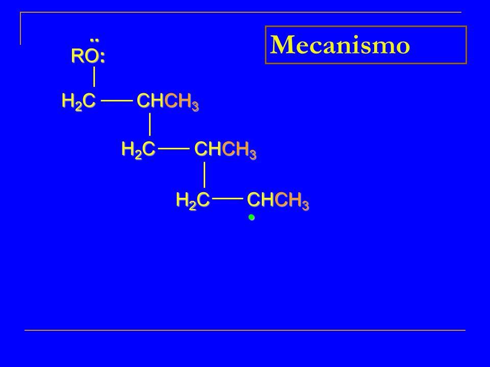 H2CH2CH2CH2C H2CH2CH2CH2C H2CH2CH2CH2C.. RO: Mecanismo