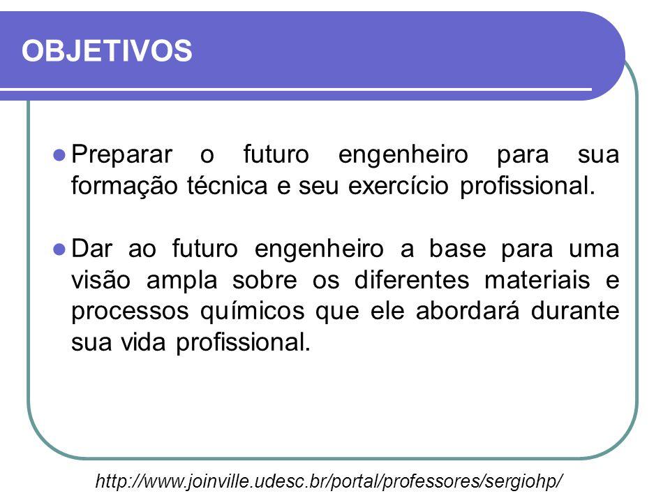 Preparar o futuro engenheiro para sua formação técnica e seu exercício profissional. Dar ao futuro engenheiro a base para uma visão ampla sobre os dif