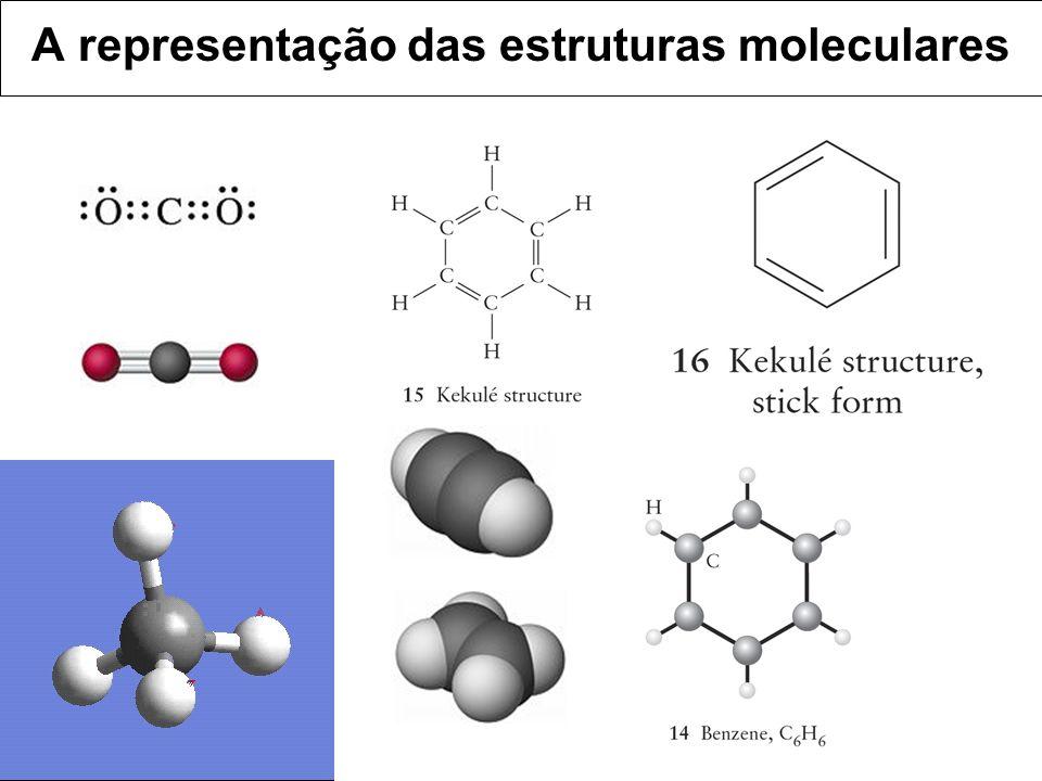 A representação das estruturas moleculares