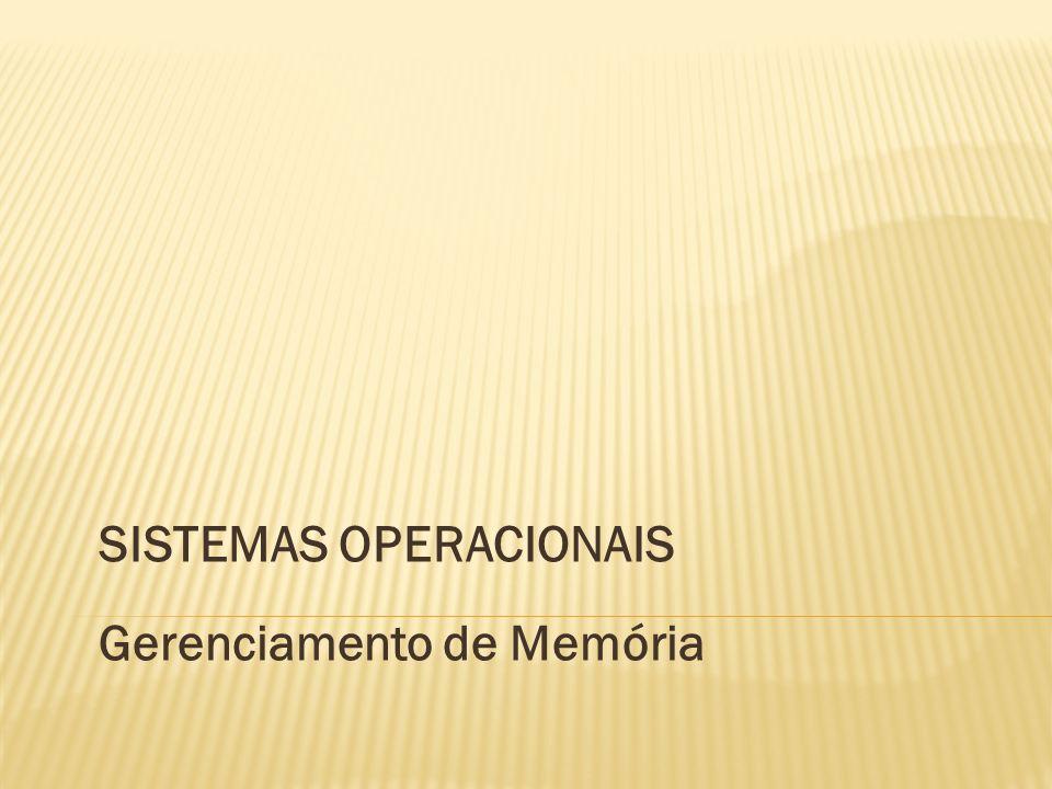 Considerações Iniciais Gerenciamento de Memória Memória Virtual Considerações Finais 2