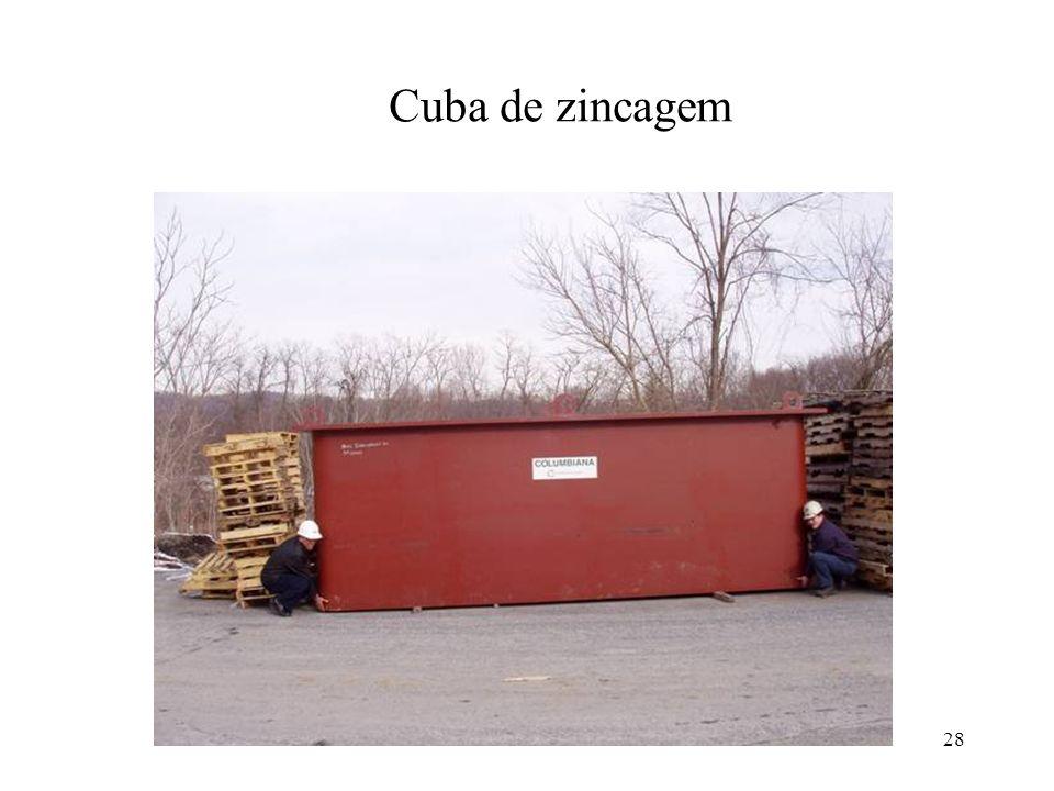 28 Cuba de zincagem