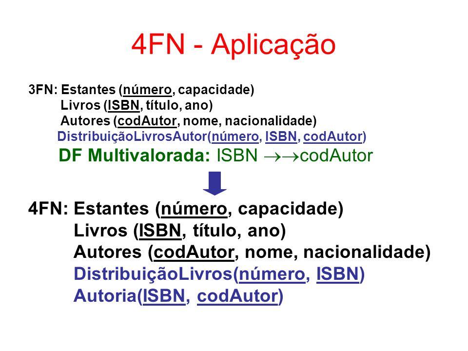 Exercício 1 A tabela abaixo está na 1FN.