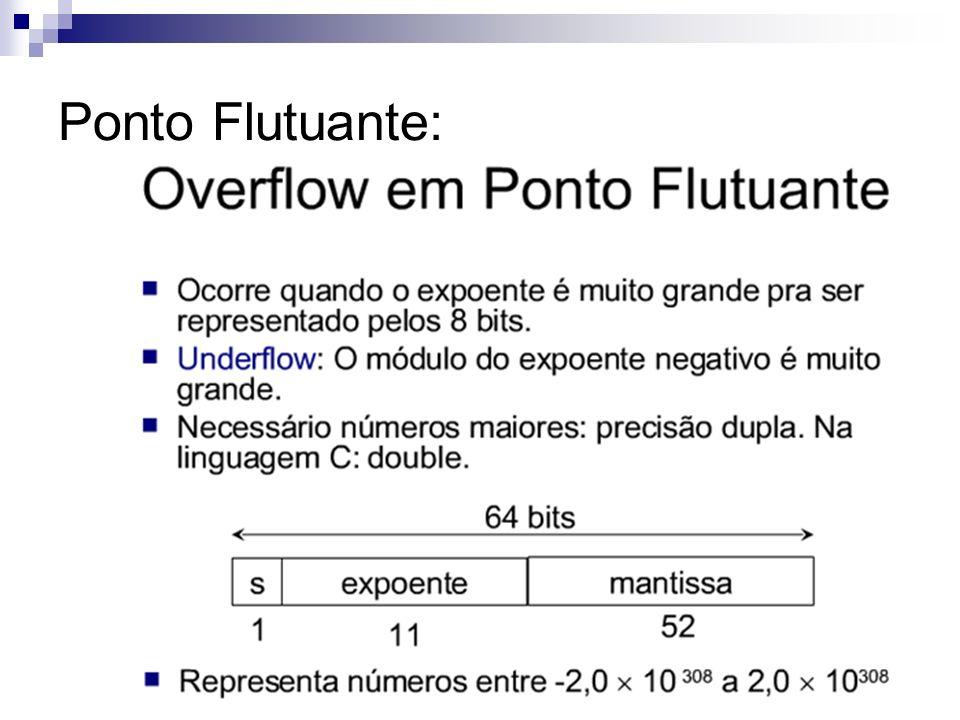 Ponto Flutuante: