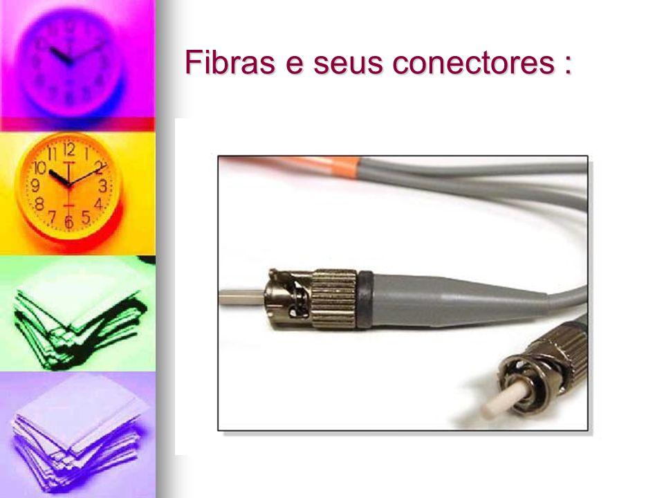 Fibras e seus conectores :