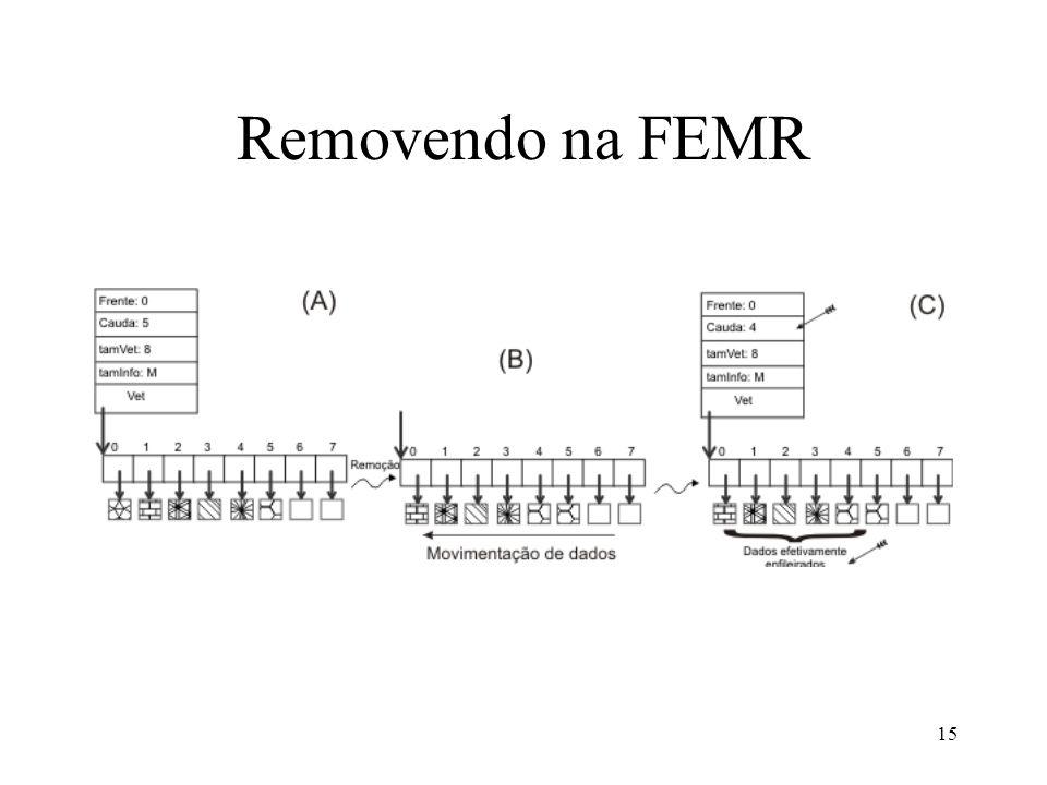15 Removendo na FEMR