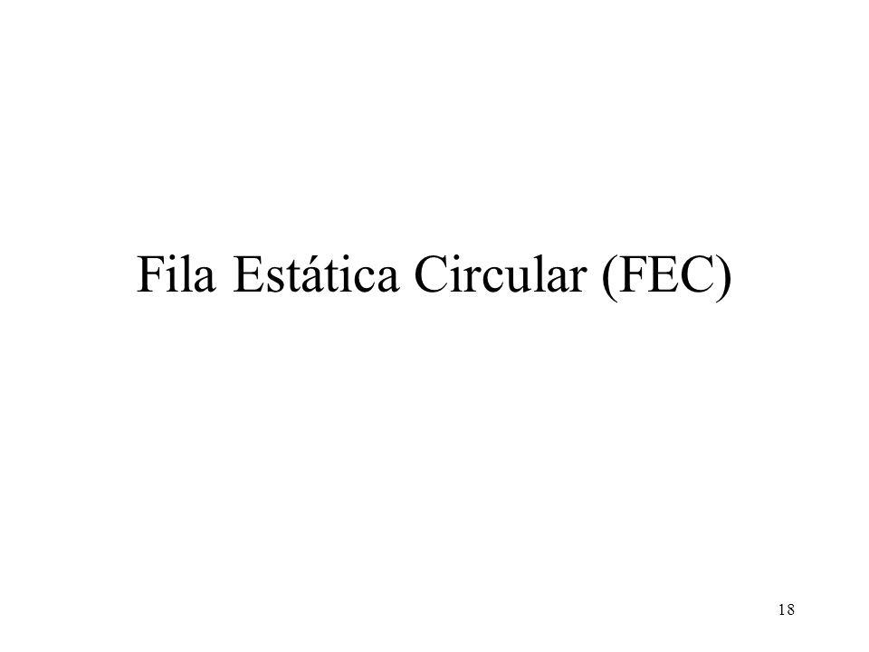 18 Fila Estática Circular (FEC)