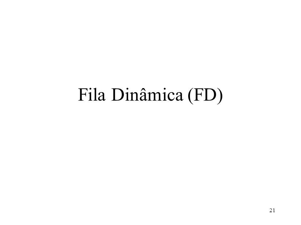 21 Fila Dinâmica (FD)