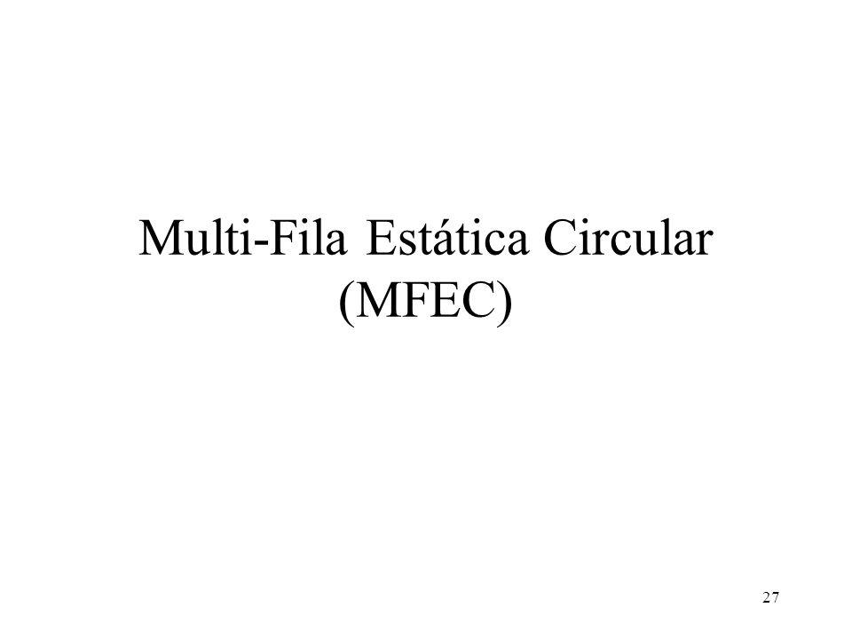 27 Multi-Fila Estática Circular (MFEC)