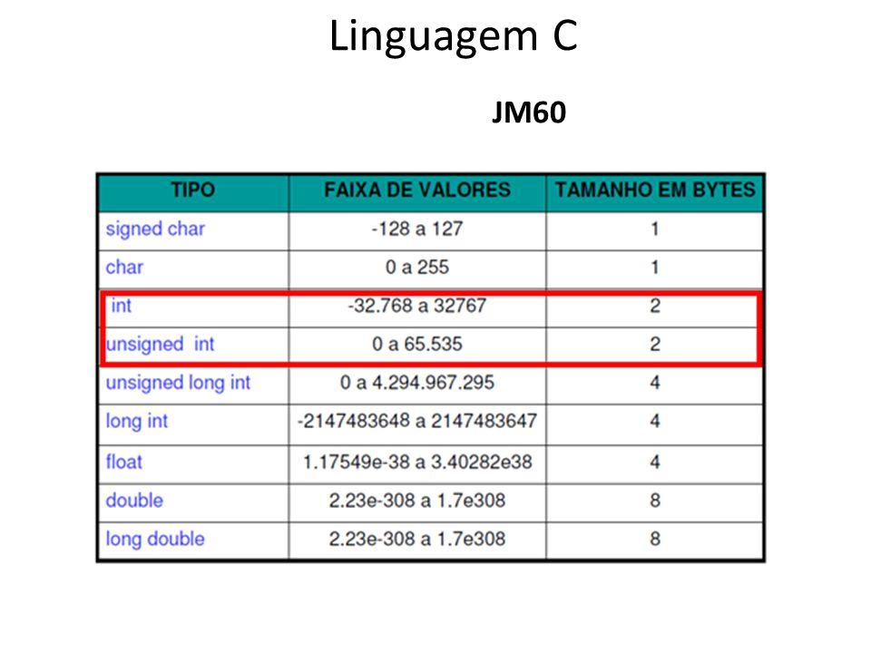 JM60 Linguagem C