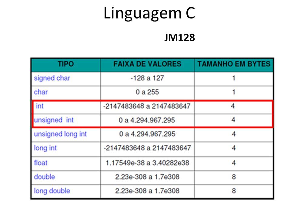 JM128 Linguagem C