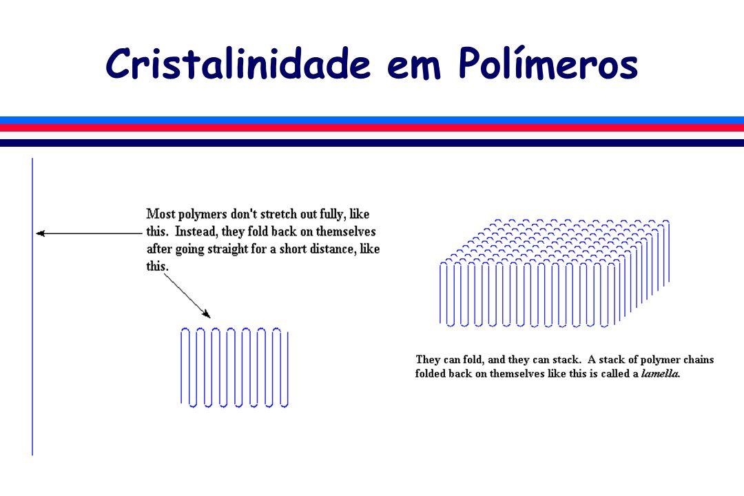 Cristalinidade em Polímeros