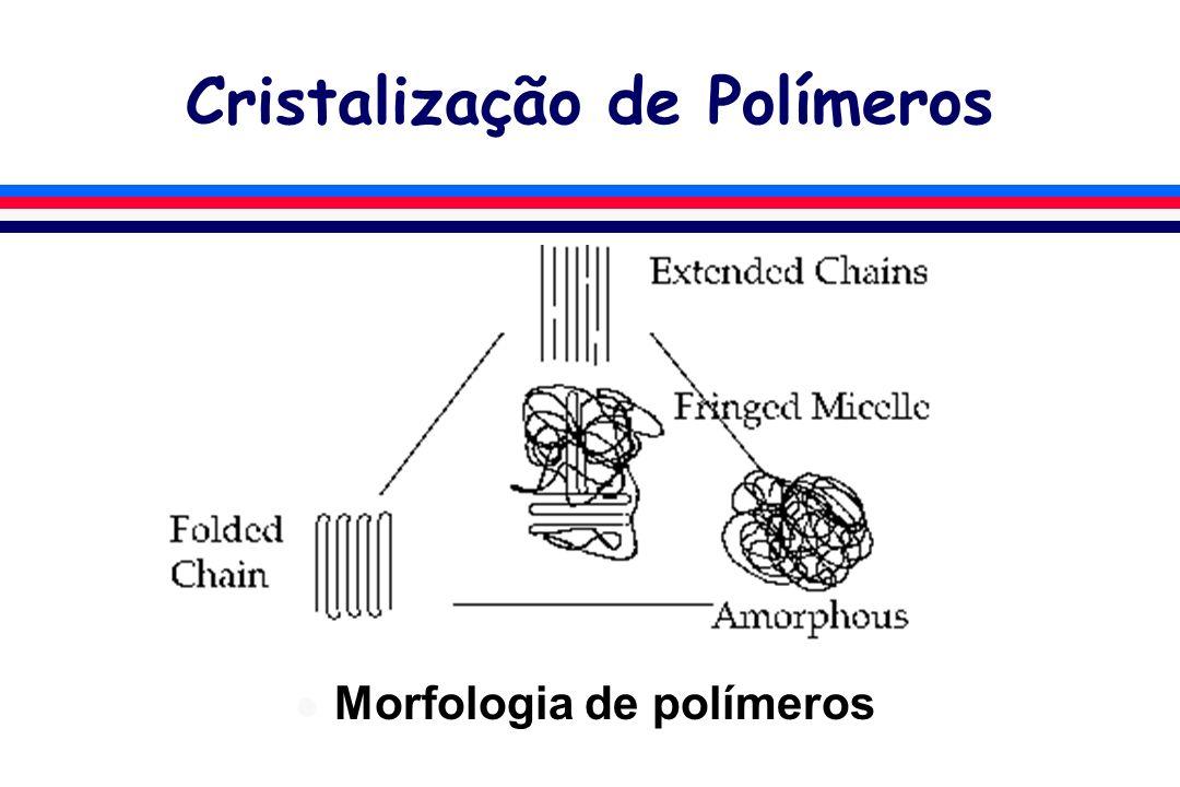 Cristalização de Polímeros l Morfologia de polímeros