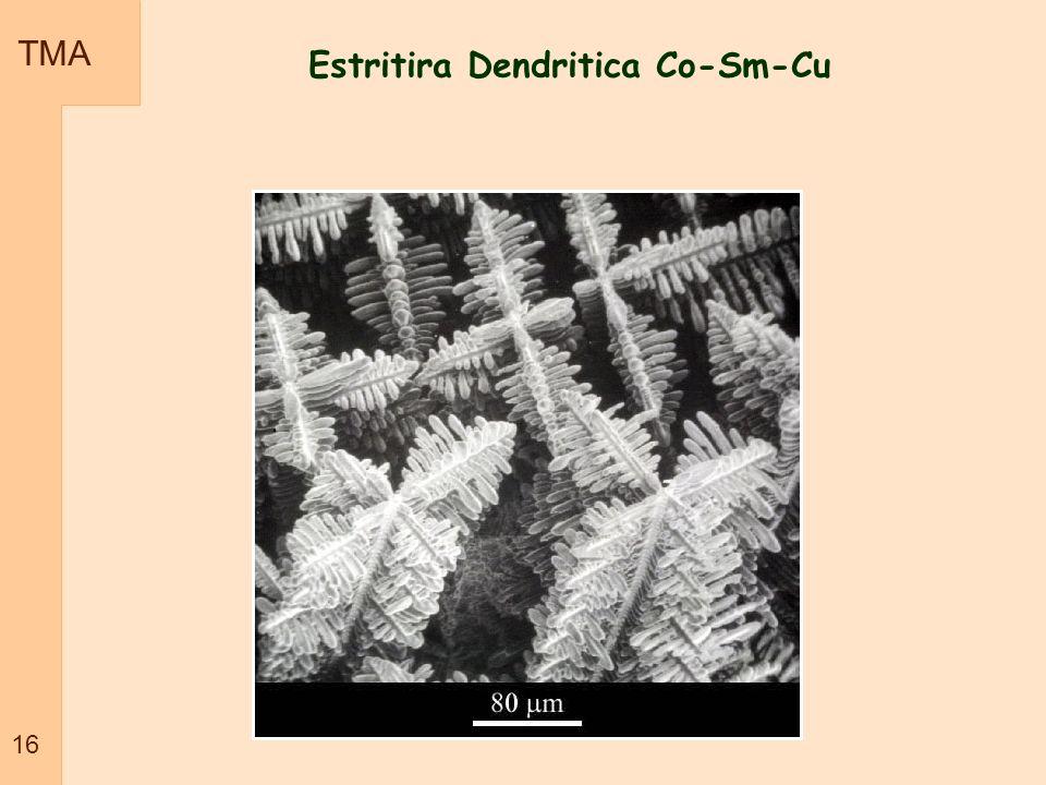 Estritira Dendritica Co-Sm-Cu TMA 16