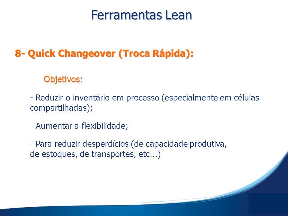 Objetivos: - Reduzir o inventário em processo (especialmente em células compartilhadas); - Aumentar a flexibilidade; - Para reduzir desperdícios (de c