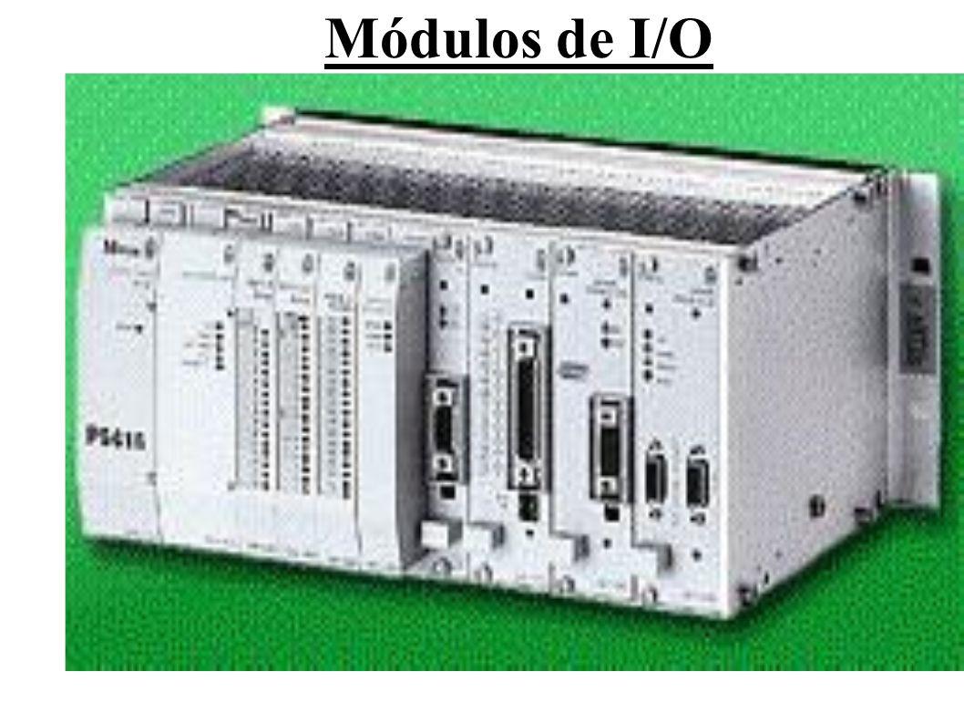 Os módulos de entrada (Input), recebem os sinais dos dispositivos de entrada, tais como: sensores, chaves e transdutores, e os convertem em níveis adequados para serem processados.