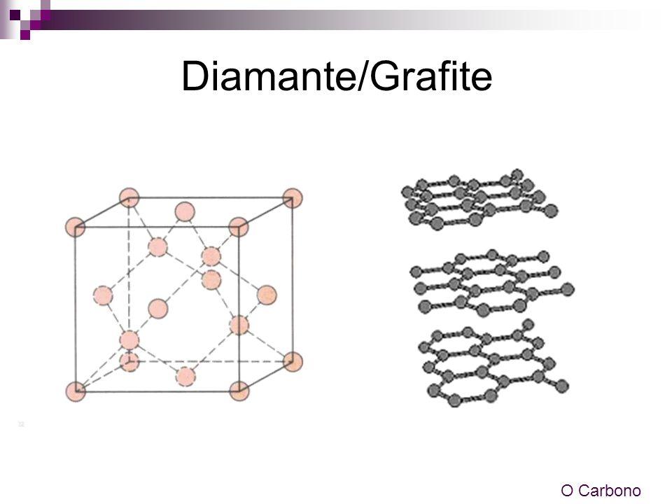 Diamante/Grafite O Carbono