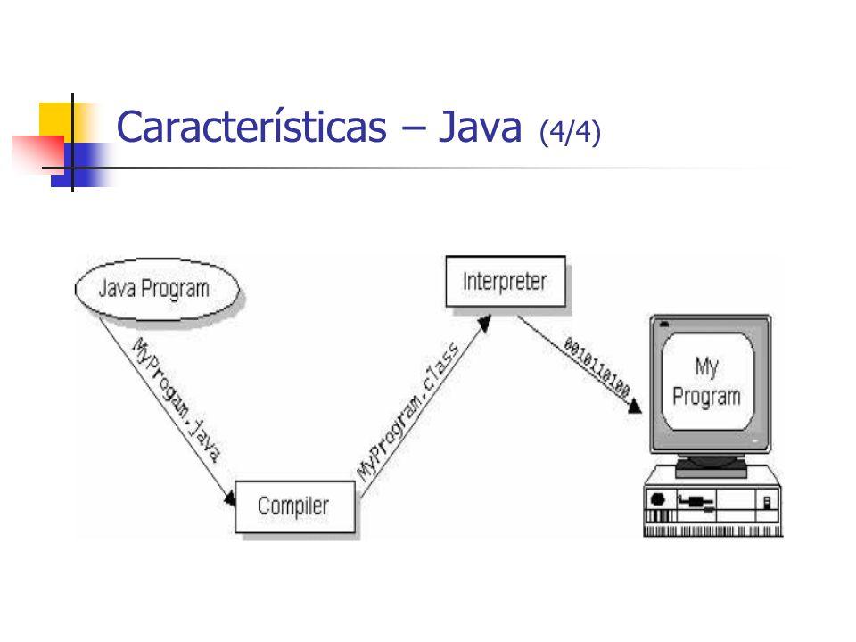 Características – Java (4/4)