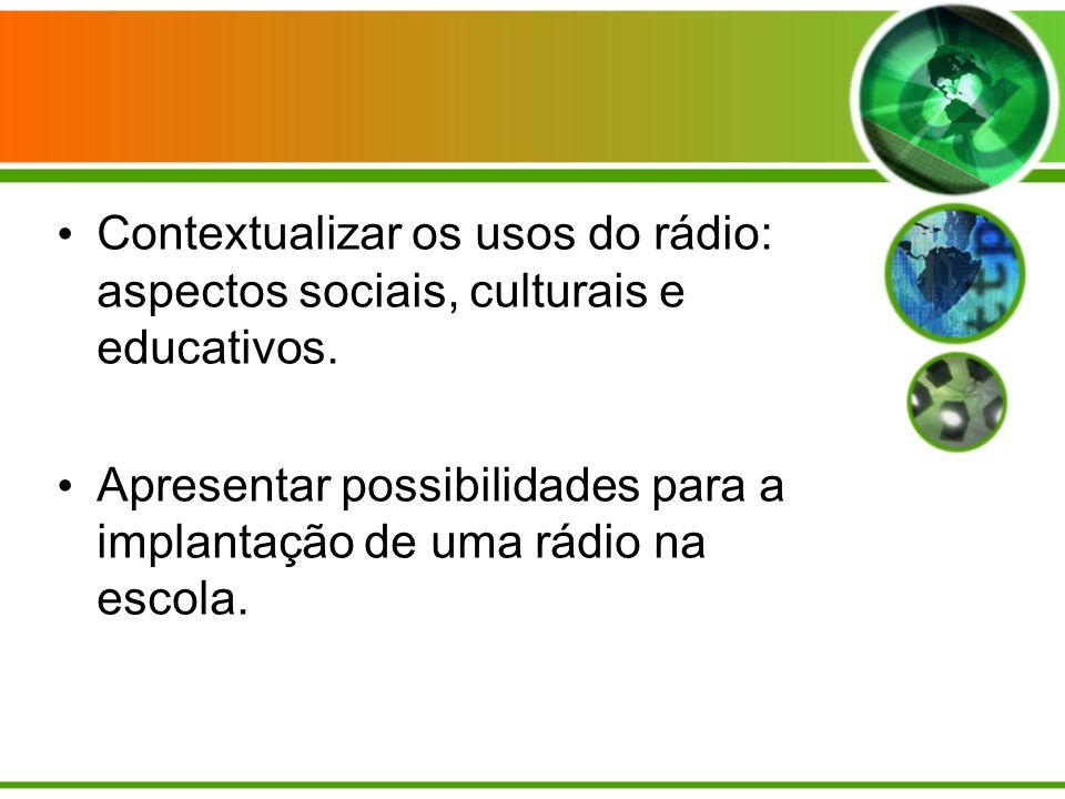 O rádio no Brasil e no mundo 1887 - Assim como no caso de outras tecnologias que se aproveitaram do conhecimento científico, a descoberta da propagação das ondas eletromagnéticas feita pelo alemão Henrich Hertz, em 1887, colaborou com a criação do rádio.