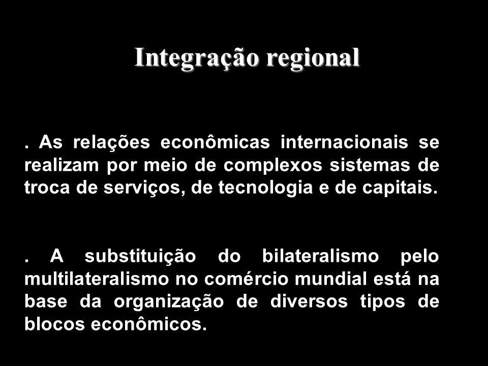 Associação e integração entre países Associação e integração entre países Aula 11 – Geografia Política Prof. Raul Borges Guimarães