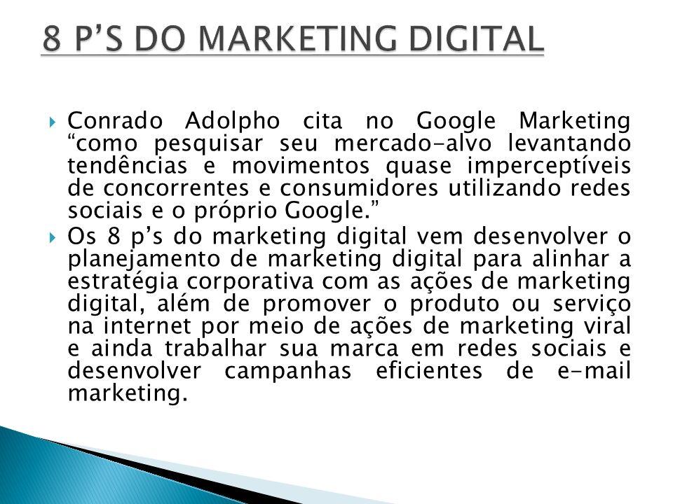 Conrado Adolpho cita no Google Marketing como pesquisar seu mercado-alvo levantando tendências e movimentos quase imperceptíveis de concorrentes e con