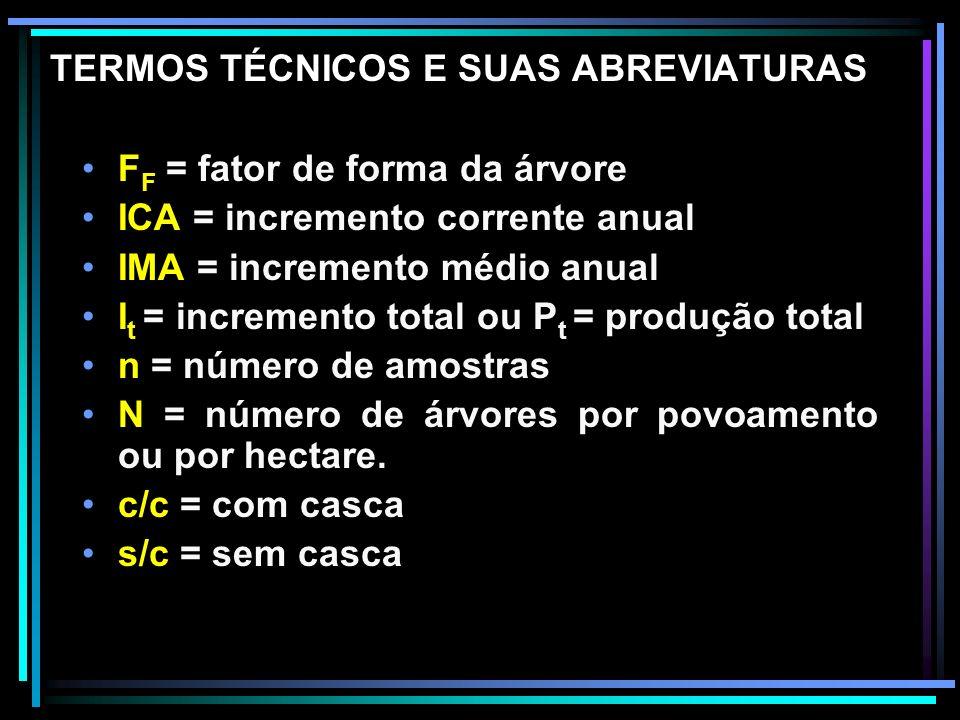 DETERMINAÇÃO DO VOLUME DE TORAS Instrumentos 1.SUTAS – instrumentos utilizados para a medição de diâmetros, consistem de: - régua graduada - braço fixo e, - braço móvel