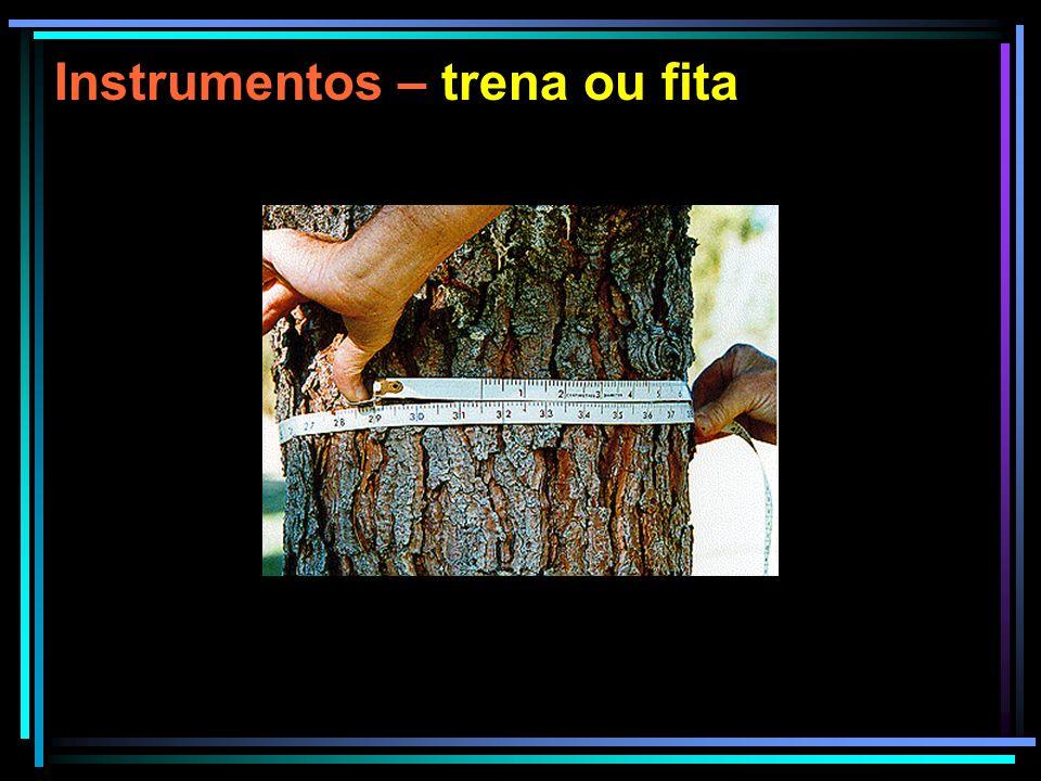 Instrumentos VARA DE BILTMORE A vara de Biltmore é usada para medir diâmetros quando não se exige muita precisão.