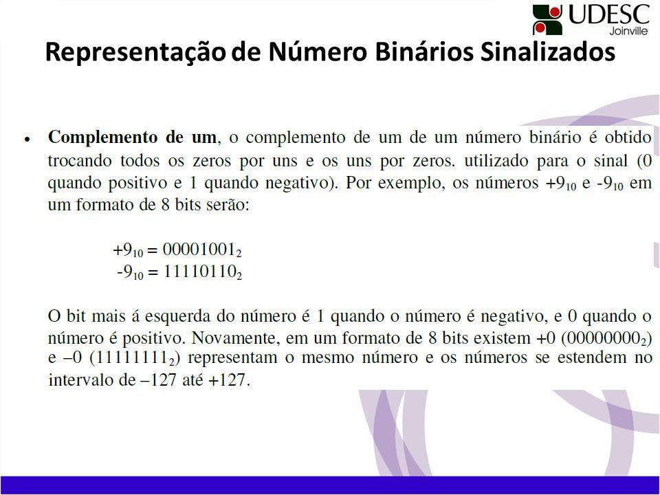 Complemento de dois, o complemento de dois de um número binário é obtido calculando primeiro o complemento de 1 do número e depois somando 1.