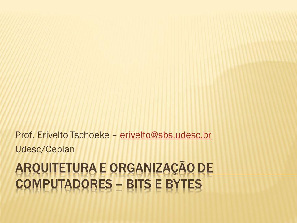 Prof. Erivelto Tschoeke – erivelto@sbs.udesc.brerivelto@sbs.udesc.br Udesc/Ceplan