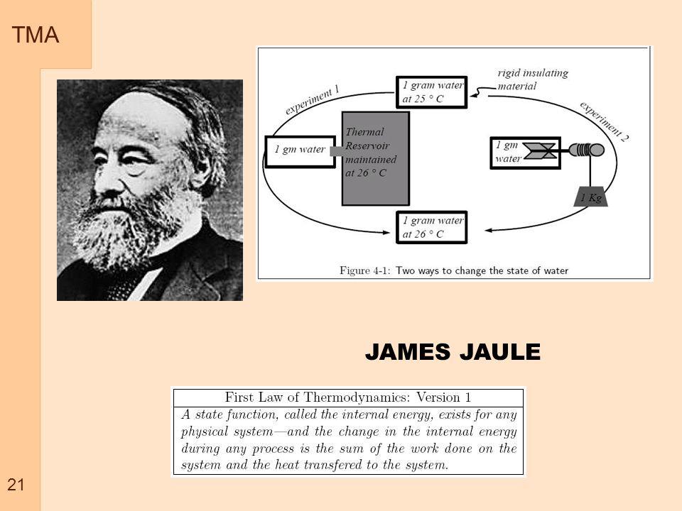 TMA 21 JAMES JAULE