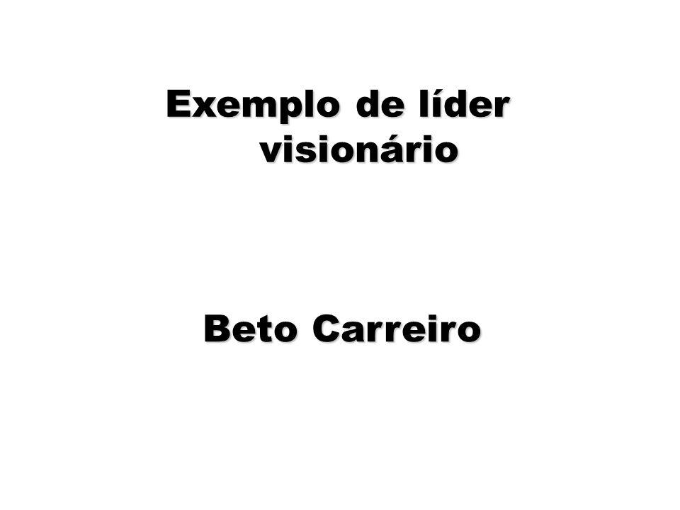 71 Exemplo de líder visionário Beto Carreiro