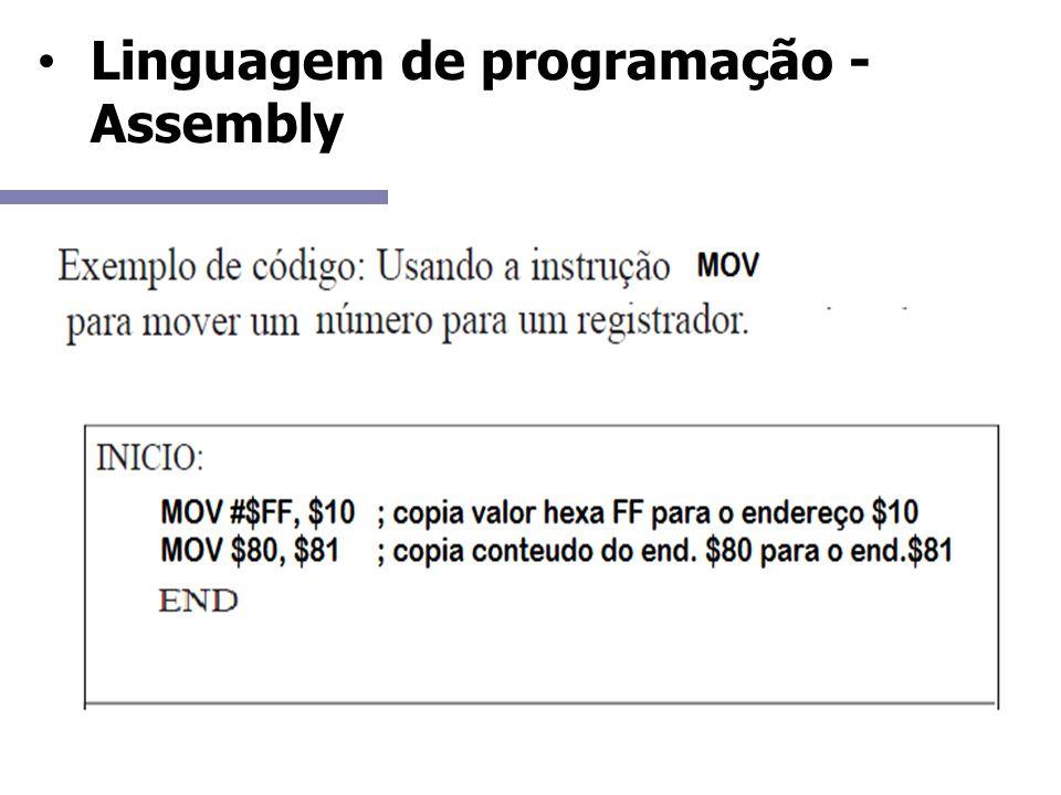 Linguagem de programação - Assembly