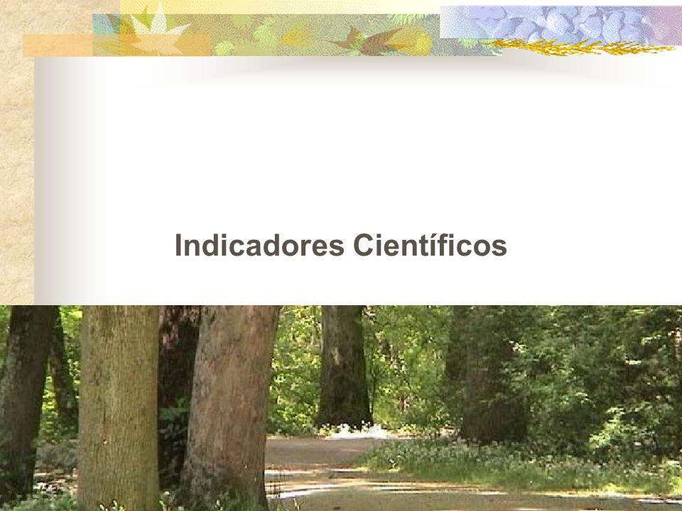 Indicadores Científicos