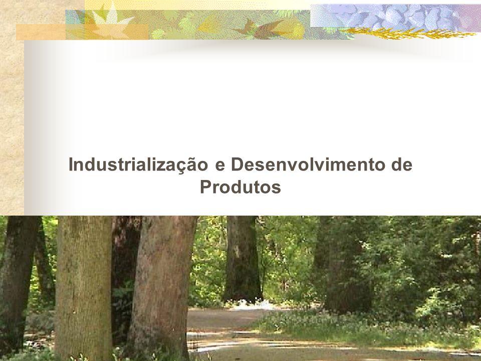 Industrialização e Desenvolvimento de Produtos