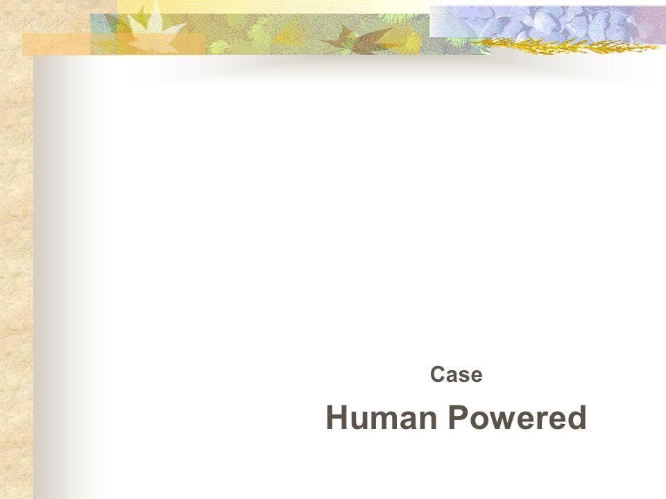Case Human Powered