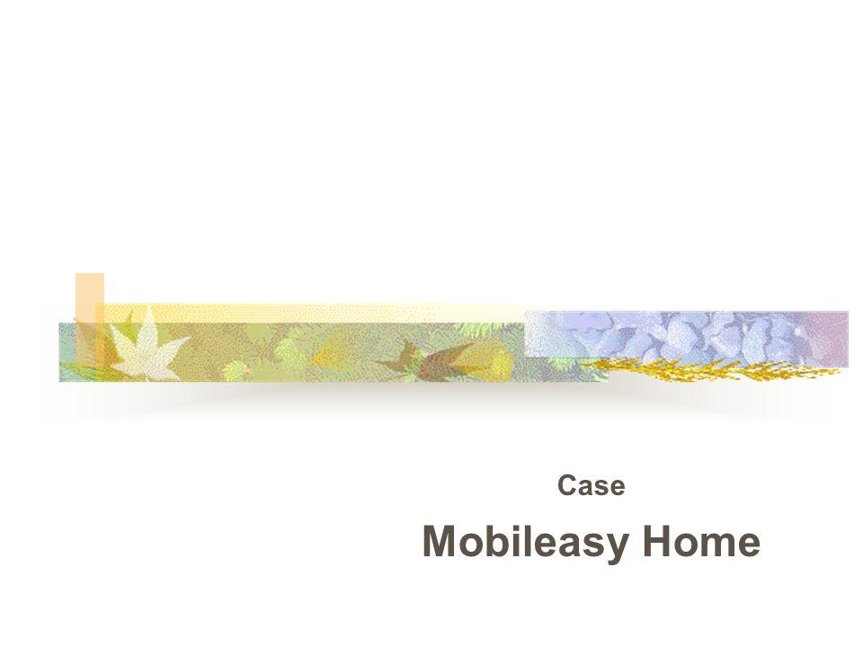 Case Mobileasy Home