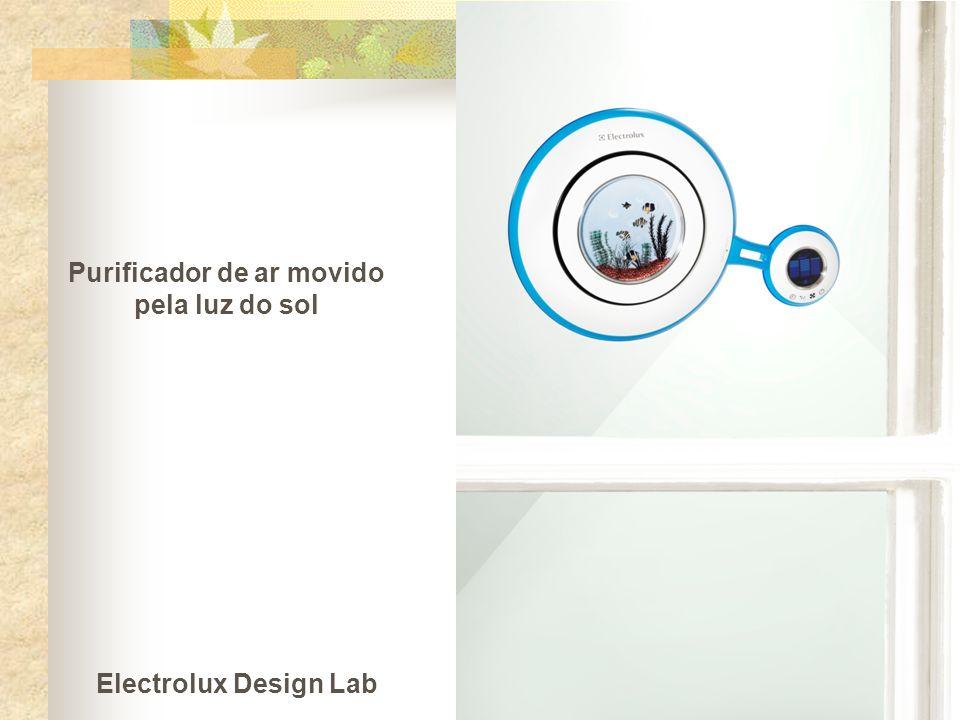 Purificador de ar movido pela luz do sol Electrolux Design Lab