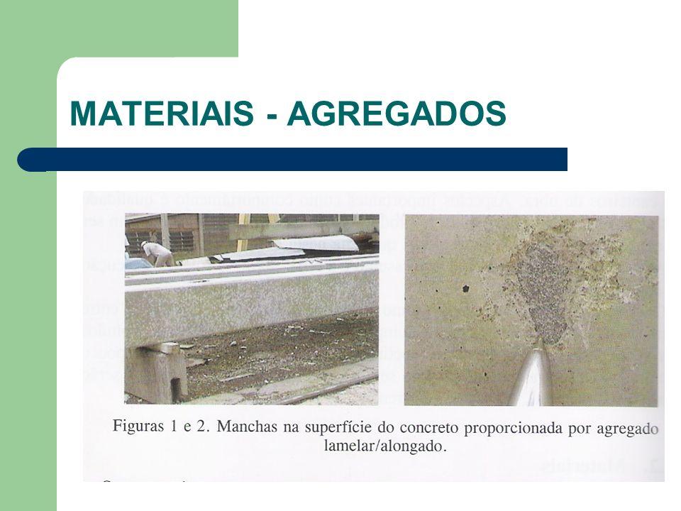 MATERIAIS - AGREGADOS
