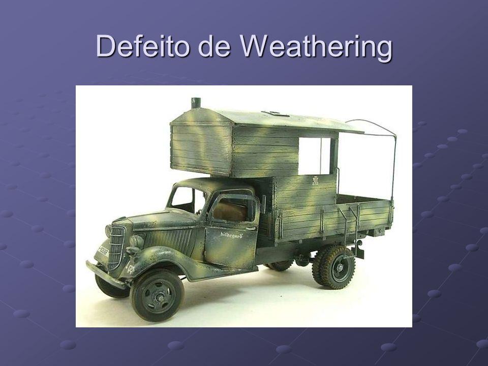 Defeito de Weathering