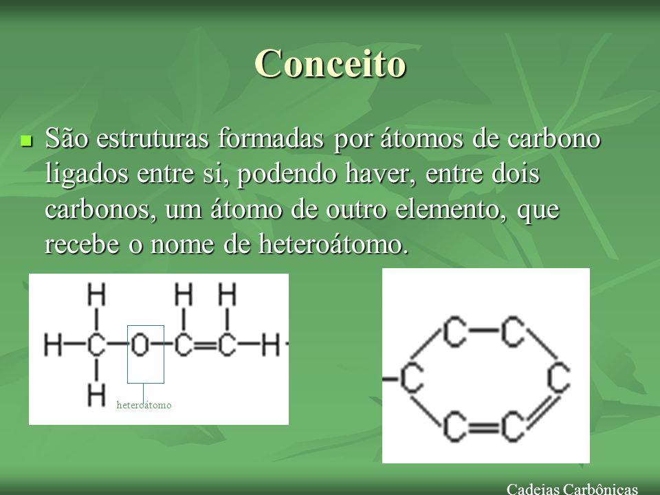 Classificação dos Átomos de C 1.
