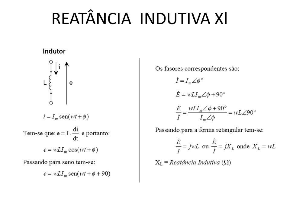 REATÂNCIA CAPACITIVA Xc